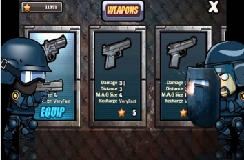 SWAT and Zombies взломанный (много денег)