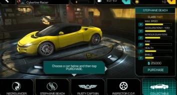 Взломанная Cyberline Racing (много денег)