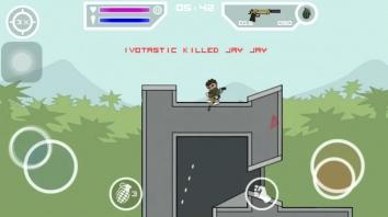 Doodle Army 2 : Mini Militia взломанная на бессмертие