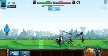 Cartoon Wars 3 взломанный (много денег)
