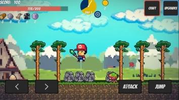 Взломанный Pixel Survival Game (Мод много денег)