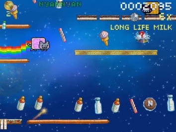 Nyan Cat: Lost In Space взломанная