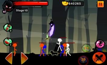 Взломанный Stickman Ghost: Ninja Warrior (Mod: много денег)