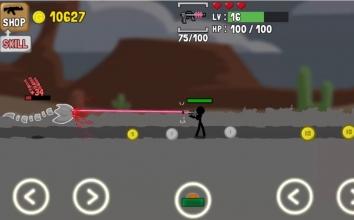 Взломанный Stickman and Gun на много денег (Mod)
