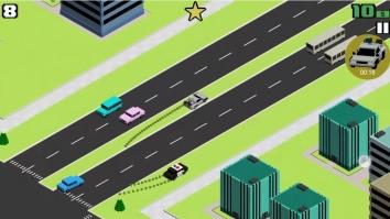 Smashy Road: Wanted взломанный на много денег