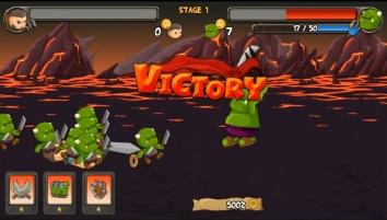 A little war 2: Revenge взломанный (Мод много денег)