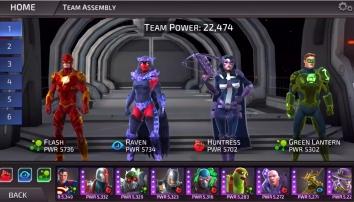 Взлом DC Legends (Мод много денег)
