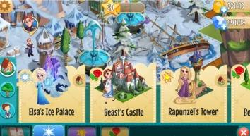 Взломанная Disney Волшебный город (Мод много денег)