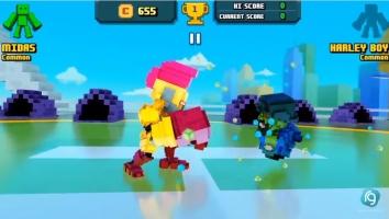 Взломанный Super Pixel Heroes