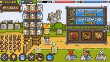 Взломанный Grow Castle (Мод много денег)