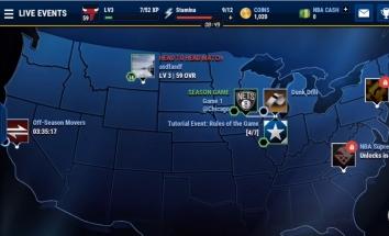 Взлом NBA LIVE Mobile (Mod: много денег)