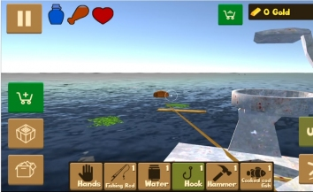 Взломанный Raft Survival Simulator