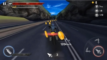 Взломанный Death Moto 3 (много денег)