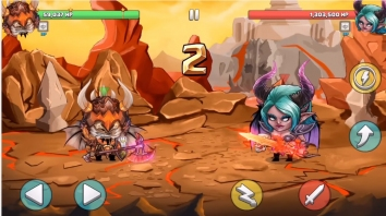 Tiny Gladiators взлом (Мод много денег)