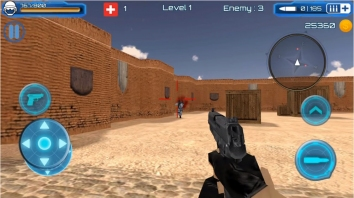 SWAT Counter Terrorist Shoot взлом (Мод много монет/патронов)
