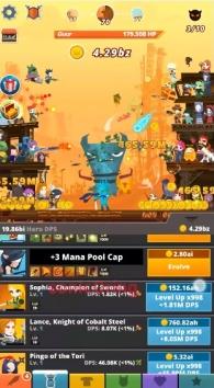 Tap Titans 2 взломанный (Мод на деньги)
