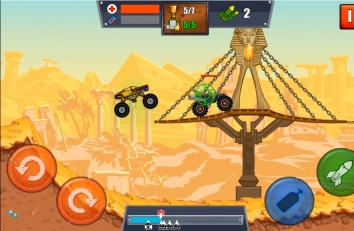 Mad Truck Challenge - Racing взломанный (Мод много денег)