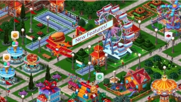 RollerCoaster Tycoon 4 Mobile взломанная (Мод много денег)