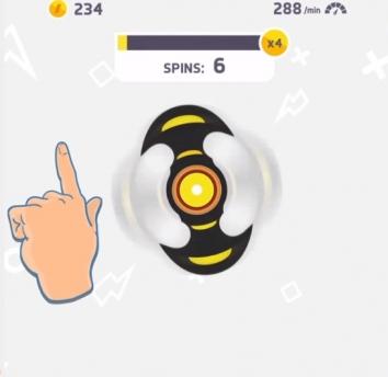 Fidget Spinner взломанная (Мод много денег/без рекламы)