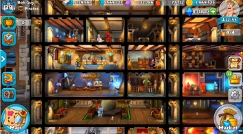 Hustle Castle: Fantasy Kingdom взломанная (много денег)