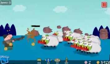 Свиньи Мстят взломанный (Мод много денег)