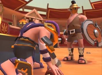 Gladiator Heroes взлом (много денег)