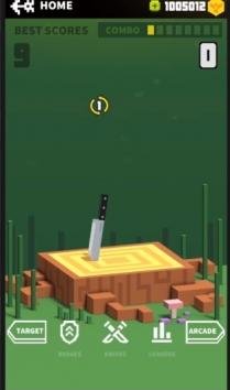 Flippy Knife взломанная (Мод много денег)