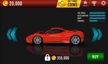Взломанный Drift Max на много денег