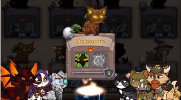Castle Cats взломанный (много денег)