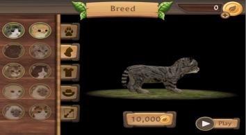 Симулятор Кошки Онлайн взломанный на много денег