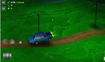 Злой Муду - Hill Climbing Taxi взломанный (много денег)