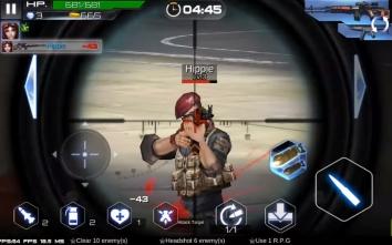 Gun War: SWAT Terrorist Strike взломанный (много денег)
