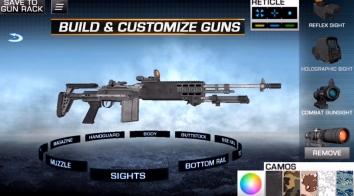 Gun Builder ELITE взломанный (все открыто)