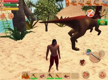 Взломанный The Ark of Craft: Dinosaurs (Мод много денег)
