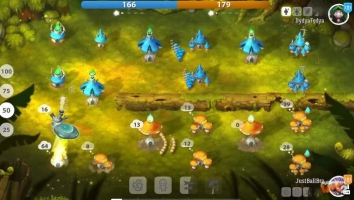 Mushroom Wars 2 взломанный