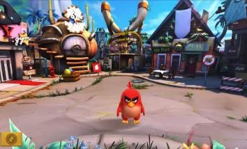 Angry Birds Evolution взломанный (Мод много урона)