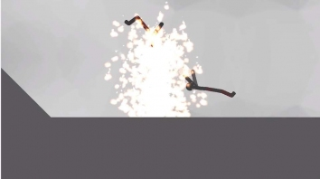 Stickman Destruction 3 Heroes взломанный (Мод много денег)