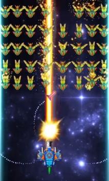 Galaxy Attack: Alien Shooter взломанный (Мод много денег)