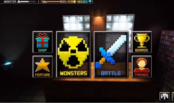 Monster Craft взломанный (Мод много денег)