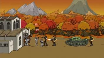 Age of War 2 взлом (Мод много денег)