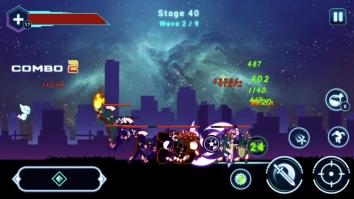 Stickman Ghost 2: Galaxy Wars взломанный (Мод много денег)
