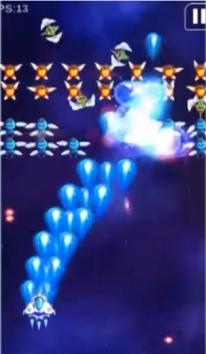 Space Shooter: Galaxy Shooting взломанный (Мод много денег)