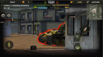 Grand Tanks: Онлайн Игра взломанный