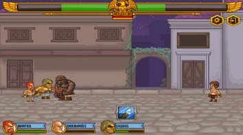 Gods Of Arena: Strategy Game взломанный (Мод много денег)