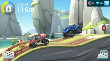 MMX Hill Dash 2 взломанный (Мод много денег)