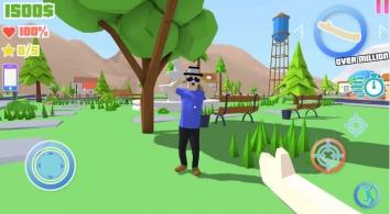 Dude Theft Wars: Open World Sandbox Simulator взломанный (Мод много денег)