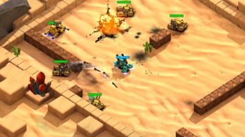 Block Tank Wars 3 взломанный (Мод на деньги)