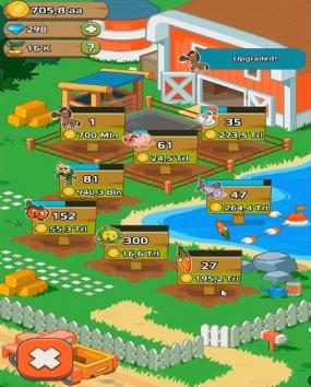 Farm and Click - Ленивый Демон Pro взломанный (Мод много денег)