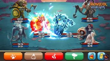 Monster Legends взломанный (Мод много маны и денег)