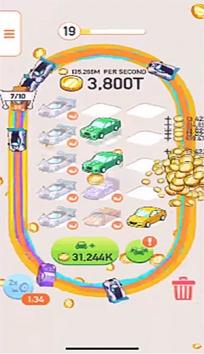 Car Merger взломанный (Мод много денег)